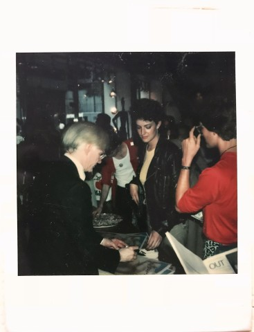 Polaroid Portrait of the artist