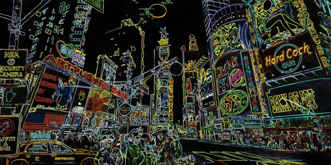 Fleshdancer Neon