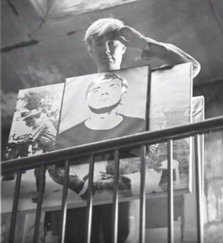 Andy Warhol, Little Race Riot, silkscreen ink on canvas. , 1964