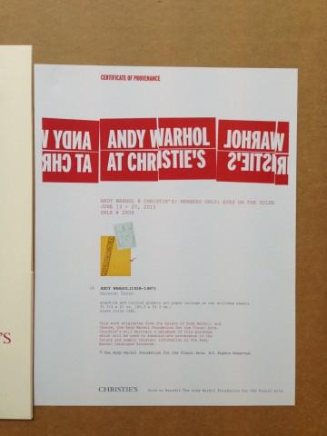 Andy Warhol, Halston Torso, 1982