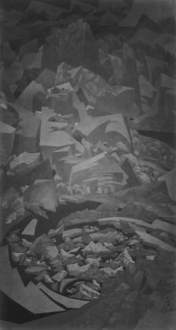 Xiao Xu 蕭旭, Cold Mountain 冷山, 2017
