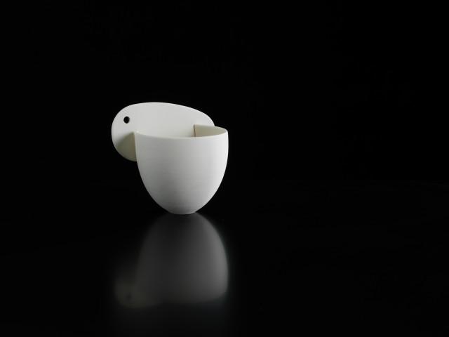 Porcelain 'Blade Form'