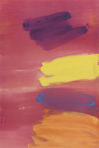 John McLEAN 约翰·麦克林, Minkin Pink 深粉色, 1984