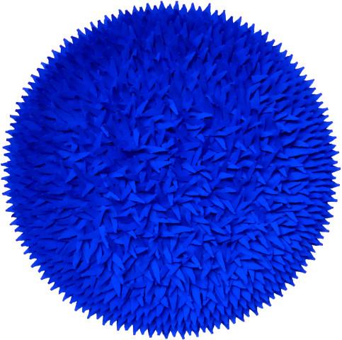 Blatterbild blue