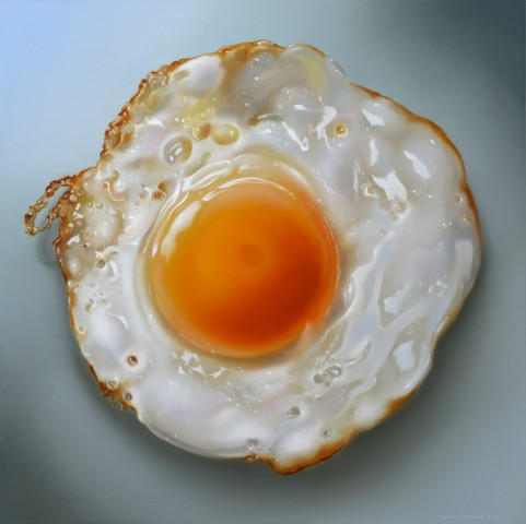 Tjalf Sparnaay, Fried Egg, 2018