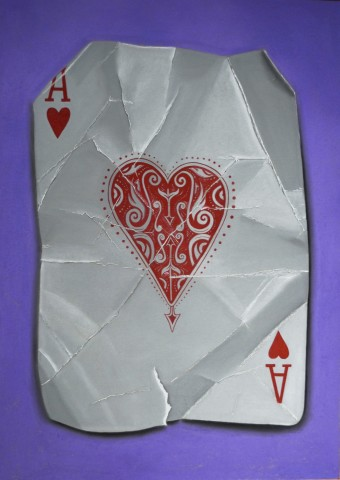 Popping Aces (Heart)