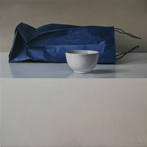 Blue Bag and Bowl