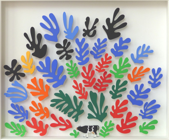 Homage to Matisse (little cow)