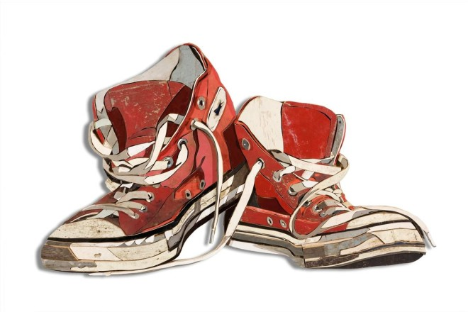 Red Sneakers III