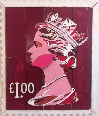 One Pound Stamp