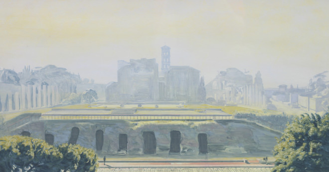 Ethereal Landscape II (Rome) Study