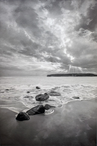 Paul Cadden, Seascape 4, 2018