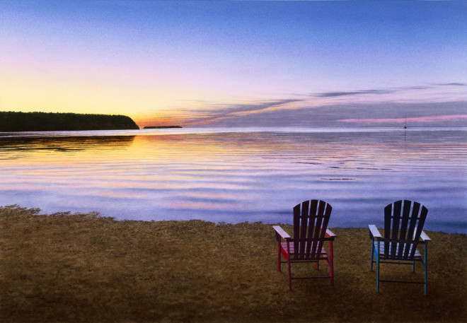 Steven Kozar, Door County Sunset