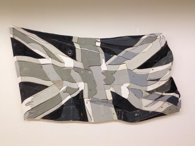 Waving Flags 3 (Bleached - Black & White)