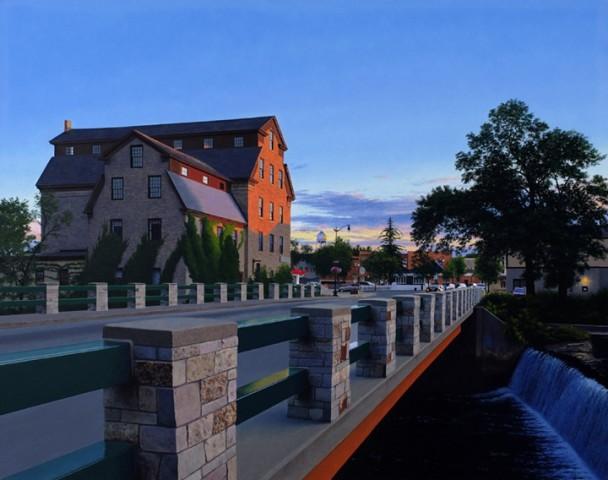Cedarburg Mill Sunset