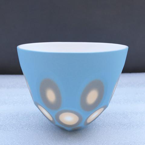 Sasha Wardell, Small/medium 'Space' Bowl, 2021