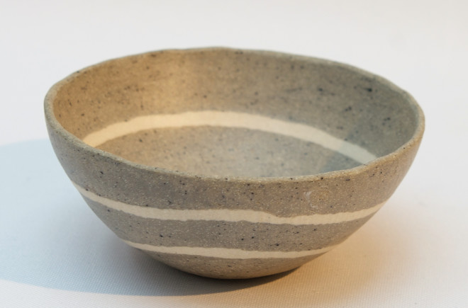 Small 'Pebble Lines' Bowl