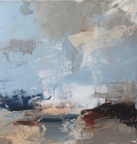 Erin Ward, Red Rocks, Sunlit Cloud, 2018