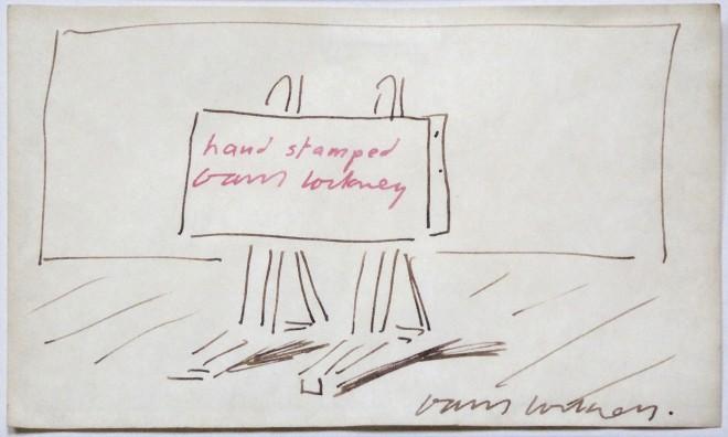 David Hockney OM CH RA, The Easel, c. 1995