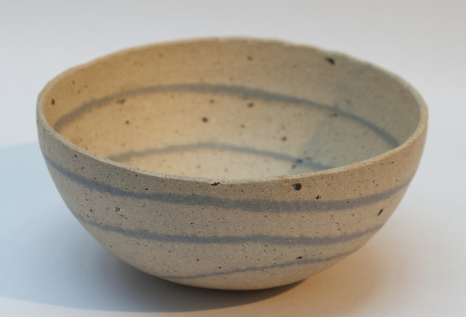Small 'Pebble Lines' Bowl - B