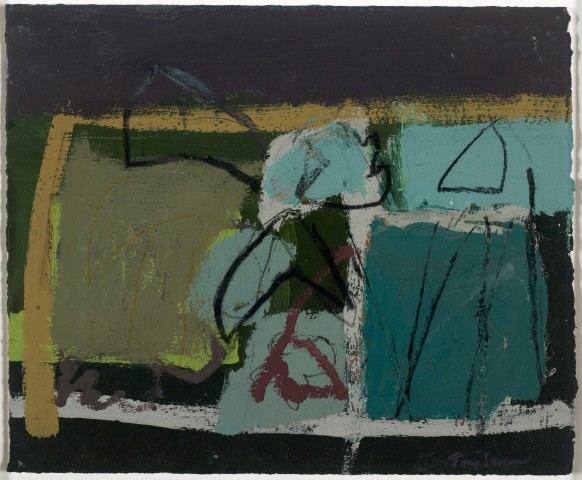 Tony Scrivener, Falling Tulips No. 4, 2014