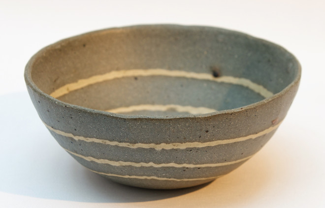 Small 'Pebble Lines' Bowl - A