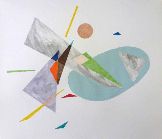 Patricia Sandonis, Landscape Splash II, 2015