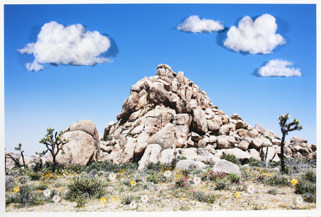 Sarah Anne Johnson, Rock Pile (Cotton Balls), 2018