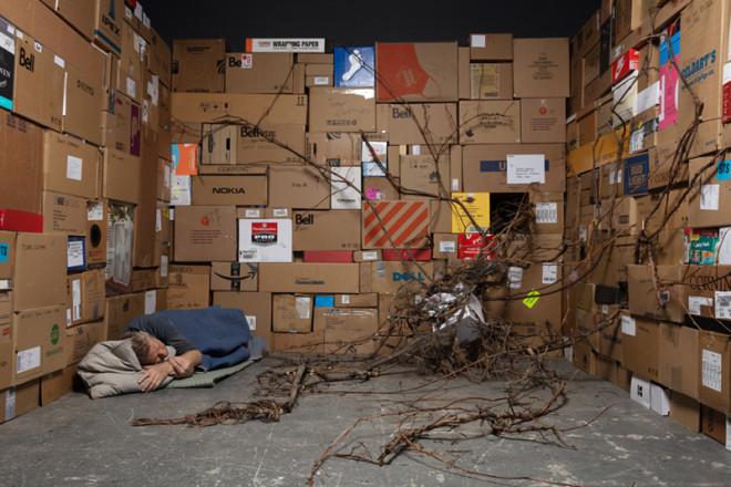 Max Dean, Sleeping, 2020