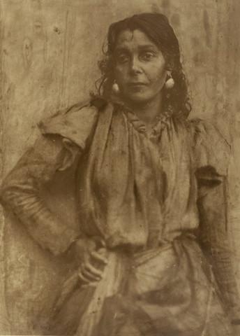 Minna Keene, An Austrian Gypsy, circa 1900