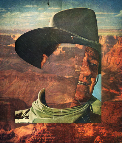 Peter Horvath, Untitled (John Wayne), 2017