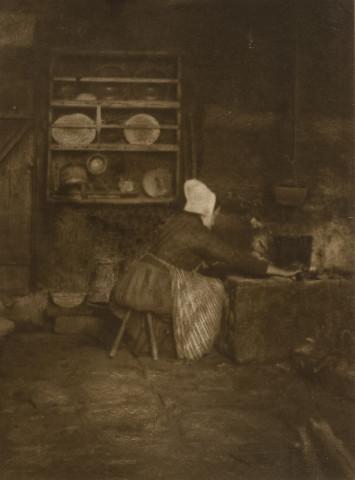 Minna Keene, In the Kitchen, circa 1900