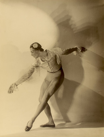 Violet Keene Perinchief, Serge Lifar, The Genius of the Dance, circa 1920