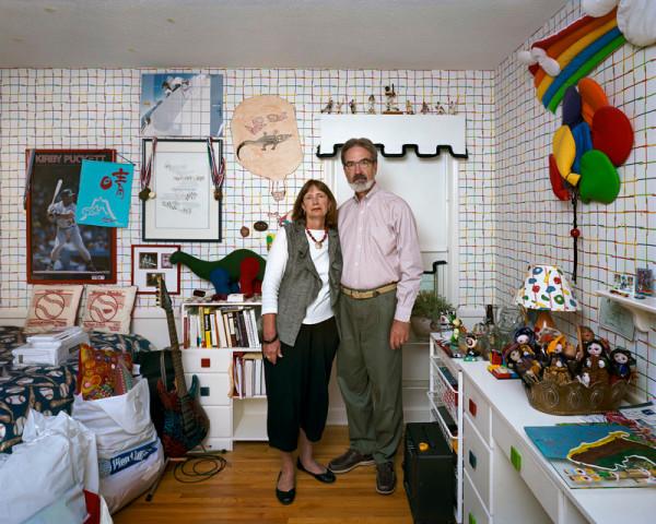 Dona Schwartz, Lollie and Alan, 3 Months, 2010