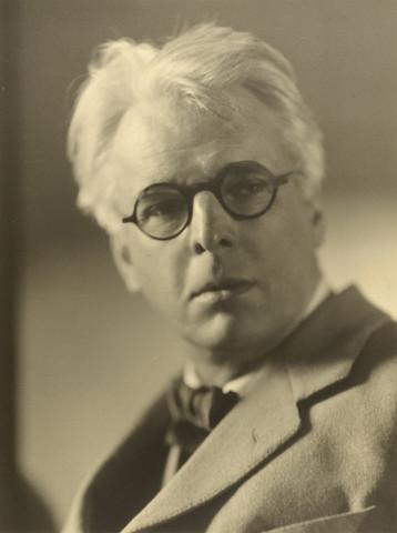 Violet Keene Perinchief, William Butler Yeats, circa 1920