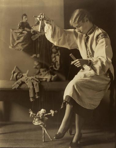 Violet Keene Perinchief, Marionettes, circa 1920