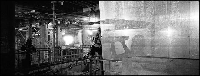 Larry Towell, Underground Construction, Union Station, Toronto, Canada, 2013