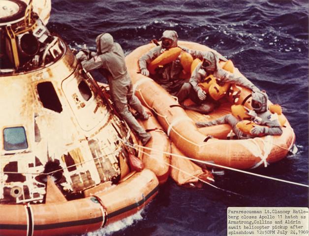NASA, Apollo 11, July 24, 1969
