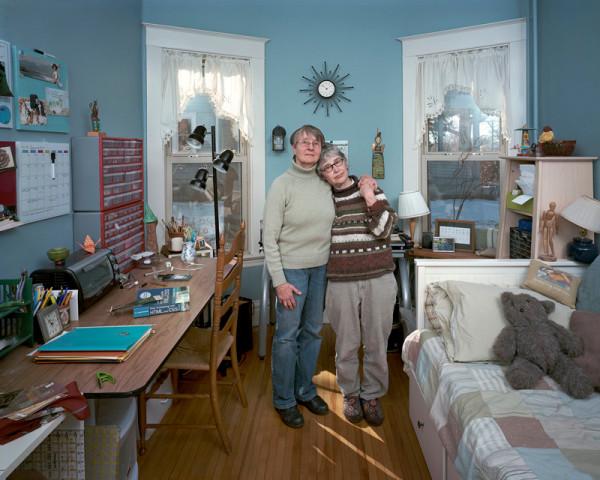 Dona Schwartz, Chris and Susan, 7 Months, 2012