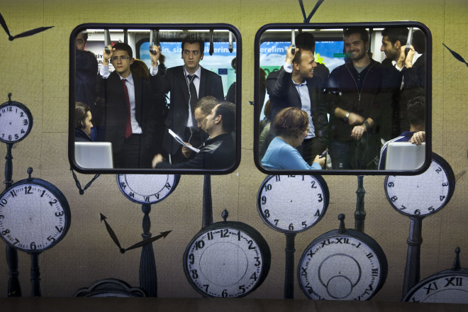 Bruno Barbey, Subway, Istanbul, Turkey, 2009