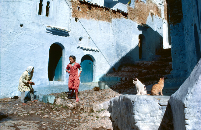 Bruno Barbey, Chefchaouen, Morocco, 1972