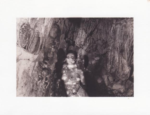 Deanna Pizzitelli, Self-Portrait, Cave, II, 2017