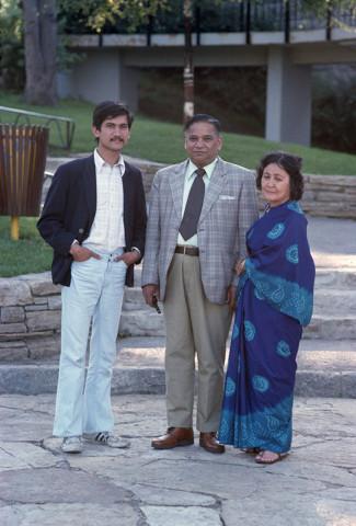 Sunil Gupta, Sunil and his Parents (Ram & Penny), circa 1975