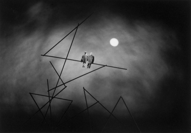 Gilbert Garcin, Nocturne (D'après Paul Klee) - Nocturne (after Paul Klee), 2004