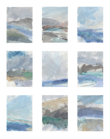 Leah Beggs, Works on Paper (Set #3)