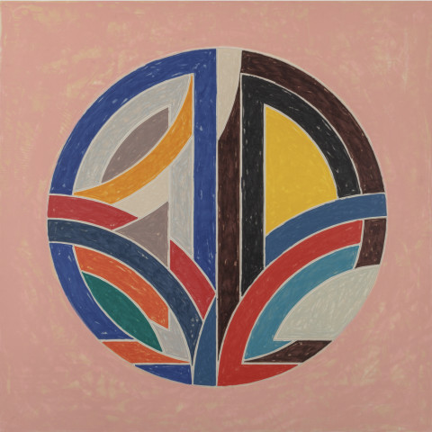 Frank Stella, Sinjerli Variation Squared with Colored Ground III, 1981