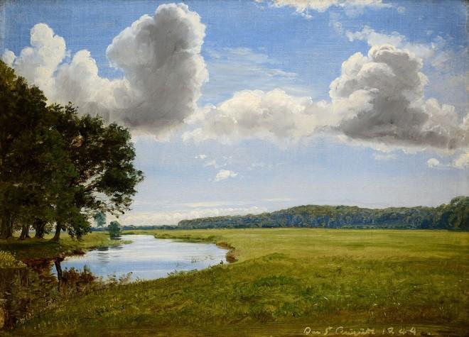 Landscape around Halleby River