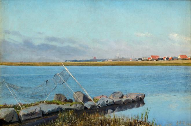 The fjord at Karrebæksminde