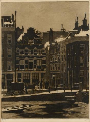 The Halvemaansteeg in Amsterdam