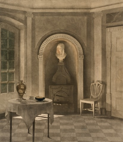 Dining Room at Liselund Castle